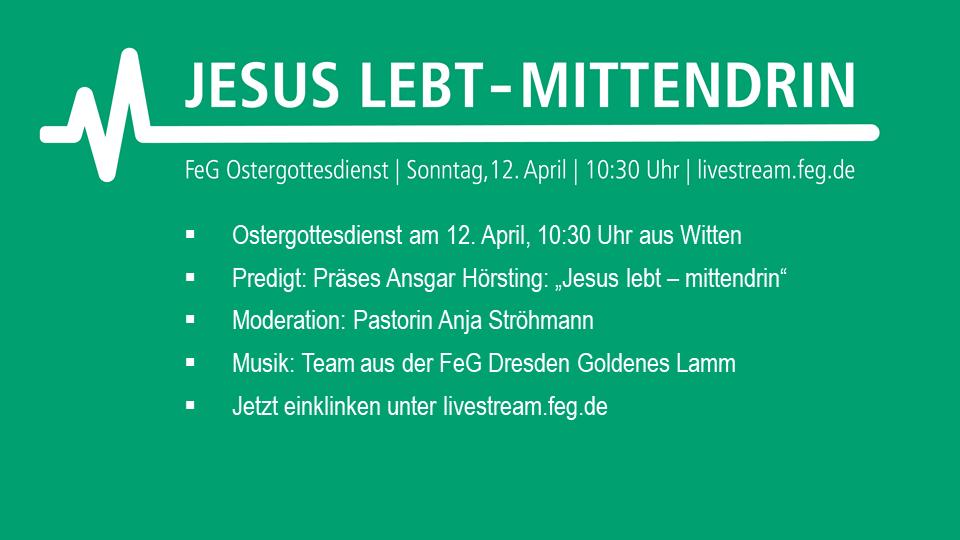 Ostergottesdienst - Freie evangelische Gemeinde Dresden